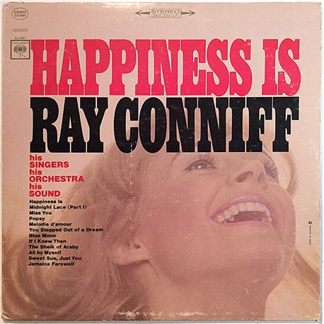 Conniff Ray 1966 CL 2461 Happiness Is Used LP