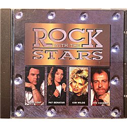 Meat Loaf, Pat Benatar, Cocker ym.: Rock with Stars kansi EX levy EX Käytetty CD