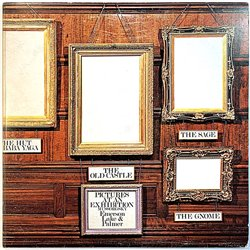 Emerson, Lake & Palmer: Pictures at an exhibition kansi VG levy EX- Käytetty LP