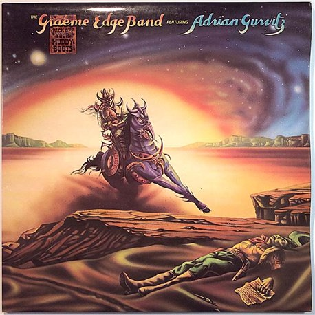 Graeme Edge Band 1975 THS 15 Kick Off Your Muddy Boots Used LP