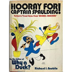 """Hooray for Captain Spaulding! : Verbal and visual gems from """"Animal Crackers"""" - Used book"""