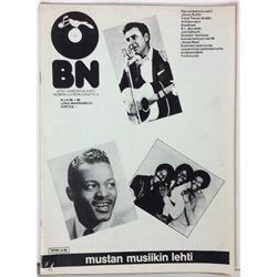 Blues News 1980 No.5 R.L.Burnside,Jimmy Ruffin