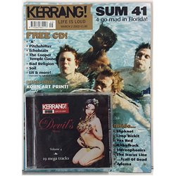 Kerrang + CD 2002 No.March 2 Bad Religion,Sum 41,Nickelback,Stereophonics