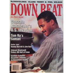 Down Beat 1993 No.September Gonzalo Rubalcaba,Kenny Burrell,Sun Ra Magazine