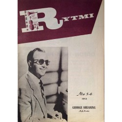 Rytmi 1952 No.N:o 5-6 George Shearing,Delta Rhythm Boys Magazine