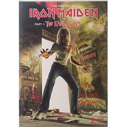 DVD - IRON MAIDEN : HISTORY OF PART 1. 2DVD 1979-8? HEAVY EMI tuotelaji: KDVD