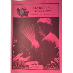 Chronic Town 1996 No. summer issue 21 An R.E.M. Fanzine Magazine