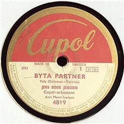 Jenssen Jens Book : Byta Partner / Tänk - shellac 78 rpm record