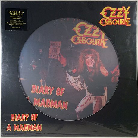 Osbourne Ozzy 1981 88697874731 Diary Of Madman, limited picture disc LP