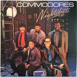 Commodores 1985 6124ML Nightshift Second hand LP
