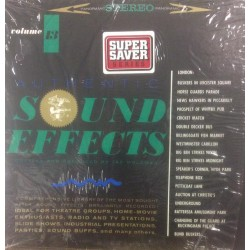 HOLZMAN JAC : AUTHENTIC SOUND EFFECTS 13 SEF ELEKTRA tuotelaji: ULP