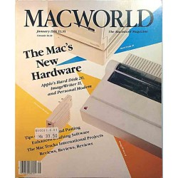 Macworld Macintosh Magazine : The Mac's New Hardware - used magazine