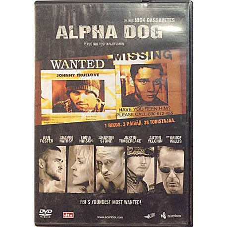 DVD - Elokuva 2006 Alpha Dog DVD Begagnat