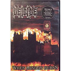 DVD - Deicide 2006 MOSH278DVD When London Burns DVD