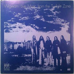 Wigwam 1975 LXLP 517/518 Live Music From The Twilight Zone 2LP Used LP