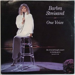 Streisand Barbra 1987 450891 1 One Voice Used LP