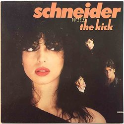 Schneider 1981 WEA 58 294 Schneider With The Kick Used LP